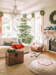 Decorating The Living Room Ideas 15 Beautiful Ways To Decorate The Living Room For Christmas