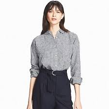 black and white blouse s shirts and blouses uniqlo us