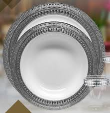 cheap wedding plates blum s paper goods dining candles napkins plastic