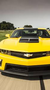 chevrolet camaro 2015 z28 yellow iphone car wallpaper hd