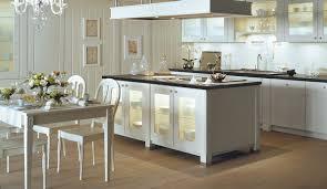 cuisine de charme white poésie kitchen by véronique mourrain ligne signatures