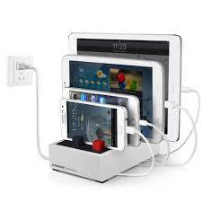 amazon com avantree 4 port 8a desktop usb charging station for