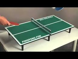 Tabletop Ping Pong Table 55922 Youtube