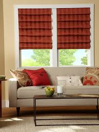 Red Roman Shades Roman Shades Dc Window Automation