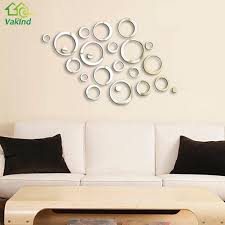 diy circles mirror wall stickers removable vinyl art mural pcs diy circles mirror wall stickers removable vinyl art mural stick home decor for room decals decoration wallpaper