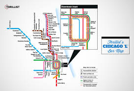 Miami Train Map by Chicago Bar Map Is The Best Not Made By Cta Thrillist