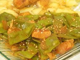 cuisiner haricots coco poulet au lait de coco curry et haricots coco plats la cuisine