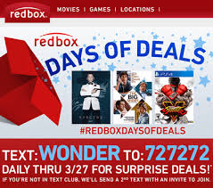 redbox codes frugality is free
