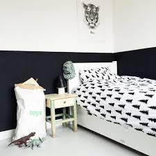 chambre fille noir et blanc chambre enfant en noir et blanc 25 idées à copier