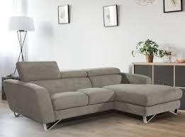 Fabric Sectional Sofas Sparta Mini Fabric Sectional Sofa Nicoletti J M Furniture