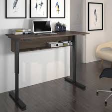 realspace magellan height adjustable desk height adjustable desks costco throughout desk idea 5