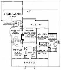 southern style house plan 4 beds 3 00 baths 2419 sq ft plan 137 169