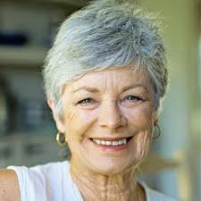 short hairstyles for seniors with grey hair summer hairstyles for short hairstyles for grey hair gallery short