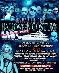Thriller Halloween Lights by Halloween Boat Party At Harbor Lights Tickets Mon Oct 31 2016