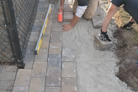 Install Patio Pavers by Paver Patio Installation How To Properly Install Your Paver Patio