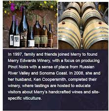 merry edwards wine dinner 5 20 2017 the ohio state