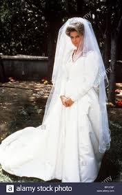1985 wedding dresses catherine oxenberg dynasty the royal wedding 1985 stock photo