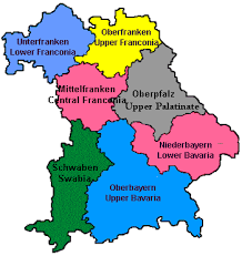 map of regions of germany explore eastern bavaria germany tourism travel guide