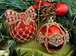 christmas balls beautiful beaded christmas balls magic