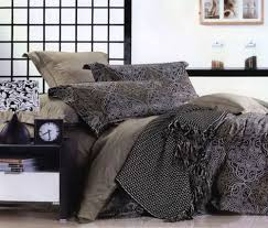 Black And Gray Duvet Cover Brown Gray And Black Bedding Sets Neutral Bedroom Colors