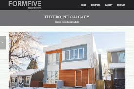 Home Inc Design Build by Recently Completed Formfive Design Build Inc Website Electris