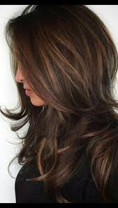 layered highlighted hair styles 70 fall hair color hairstyles for blonde brown red carmel colors