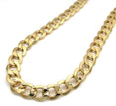 gold cuban necklace images 11mm 14k yellow gold cuban link chain necklace jawa jewelers jpg
