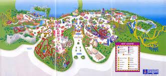 Adventure Map Theme Park Brochures Six Flags Great Adventure Theme Park Brochures