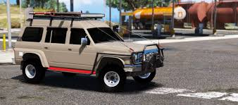 nissan patrol super safari 2016 nissan patrol safari y60 off road 1996 replace 8 extras gta5