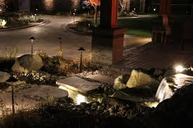 Outdoor Water Features With Lights by Outdoor Lighting U0026 Water Projects By Area Contractors New