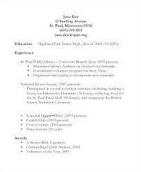 high school graduate resume resume high school graduate imcbet info
