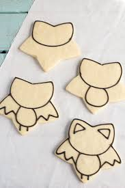 bat cookies for halloween the bearfoot baker
