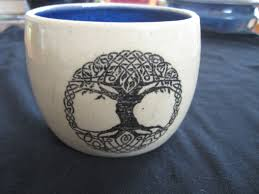 celtic tree of pirate pottery