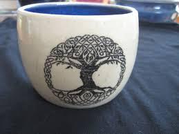 Tree Mug Tree Of Yggdrasil Tree Mug Pirate Pottery
