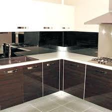 credence cuisine miroir credence en miroir pour cuisine credence de cuisine miroir noir
