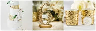 themed table numbers decorating astounding simple gold themed new years wedding
