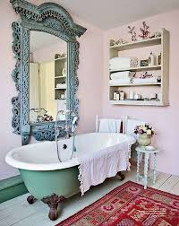 Vintage Bathroom Ideas Bathroom Terrific Vintage Bathroom Décor With Wall Shelves