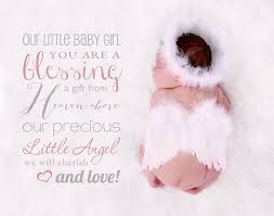 blessing baby word overlay our baby girl you by sugarpickle designs on