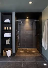bathroom contemporary bathroom decor ideas with wricker adjoining rooms bathroom contemporary with gray walls vanities