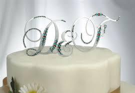 monogram cake toppers jewelry by rhonda wedding jewelry bridesmaid s jewelry cake