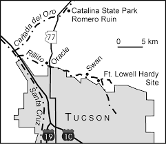 Map Of Tucson Sense Of Place