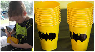 batman party ideas black and yellow batman party ideas