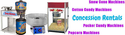 popcorn rental machine concession rentals allen tx snow cone popcorn machines
