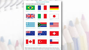 kids activities and worksheets older kids flags