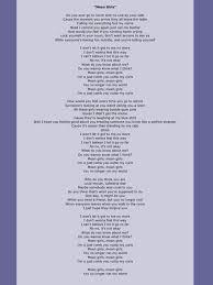 mean girls lyrics rachel crow mean girls lyrics lyrics