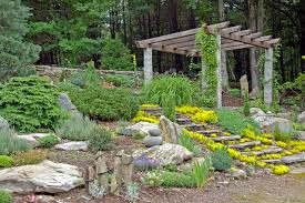 simple easy rock garden decorating ideas and designs to