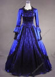 Halloween Costume Ball Gown Marie Antoinette Renaissance Queen Dress Ball Gown Theatrical