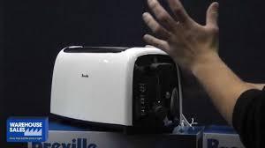 Breville Electronic Toaster Breville 4 Slive Toaster Bta340 Youtube