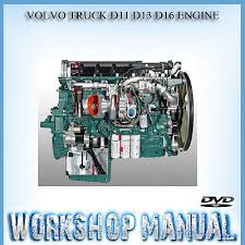 volvo truck d11 d13 d16 engine workshop service repair manual in