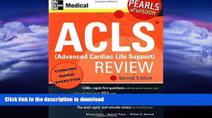 read acls advanced cardiac life support review mcgraw hill s